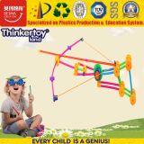 Giocattolo della costruzione dei bambini DIY di Thinkertoyland 3+