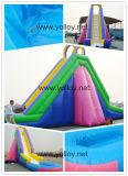 De grote Schuif van het Water van de Grootte Kleurrijke Opblaasbare voor Parken