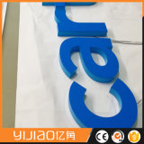 3D mini cartas publicitarias decorativas por encargo del acrílico de la luz delantera 3D