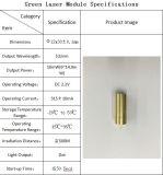 높은 Stablility Profressional 녹색 532nm 10MW Acc Laser 모듈