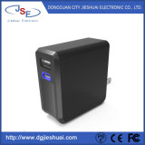 45W Pd AC Charger with Type C Output and Single USB Port
