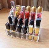 Reihen Mehrebenenacrylder nagellack-Fußboden-stehende Bildschirmanzeige-Zahnstangen-3 oder 4