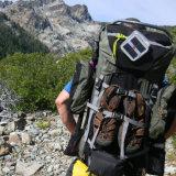 キャンプのハイキングのための膨脹可能な立方体の太陽ランタン
