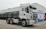 中国の最も安くか最も低いBalong 400HPの重いトラクターヘッド(トラクターの貨物自動車)
