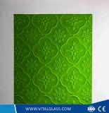 /Diamond에 의하여 /Colored 무늬를 짜넣은 Karatachi에 의하여 모방된 /Bronze Mistlite 녹색 Nashiji에 의하여 계산된 유리가 색을 칠한 계산한 /Colored에 의하여 굴렀다