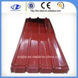 Pre-Painted波形の電流を通された鋼鉄屋根ふきシート