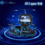Cine interactivo de la realidad virtual de la caminata 9d del E-Espacio de Vr de la máquina de juego de arcada