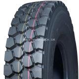 TBR neumático con un fuerte desgaste Antieccentric