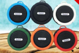 Os mini altofalantes baixos creativos bonitos gama alta portáteis do metal IP7 Waterproof o altofalante sem fio do diodo emissor de luz Bluetooth