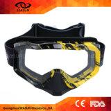 La aduana protectora de la capa UV400 de la alta calidad posee anteojos de la motocicleta de la marca de fábrica