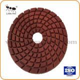 """4""""/100mm Metal Resina Bond Diamond Almofada de polir piso de chapa de moagem para betão"""