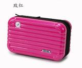 새로운 여성 메이크업 작은 여행가방 세척 포장 아BS + PC 단단한 쉘 작은 장식용 부대 여행 상자