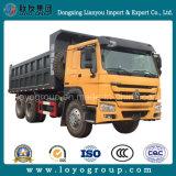 使用されたHOWOのダンプトラック6X4 Sinotrukのダンプカートラック