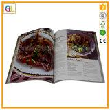 Service d'impression polychrome de livre de cuisinier (OEM-GL028)