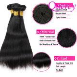 Cabelo Mongolian de venda quente da chegada 2018 nova, cabelo humano Mongolian real em linha reta, cabelo Mongolian do Virgin