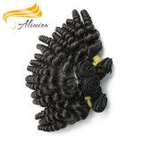 Волосы объемной волны глубокой курчавой оптовой продажи волос волны индийские