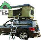 容易なセットアップ空気はトラックの堅いシェルの屋根の上のテントをサポートした