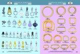 Boucle de Dee en métal de fer pour des accessoires en métal de vêtement de Handbag&