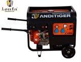 générateur de soudure de l'essence 5kVA avec le traitement et la roue Gx620