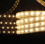 Strisce flessibili luminose LED di alto lumen di prezzi di Whosale che oscurano striscia