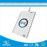 Externer NFC Leser preiswertes Preis-Chipkarte-kontaktloses Mikro USB-