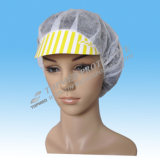 Descartável esfregar chapéus, chapéus de papel do cozinheiro chefe