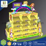 La cartulina se levanta la tablilla de anuncios de papel de la visualización para los juguetes