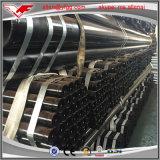 Il tubo d'acciaio saldato nero del carbonio ERW di GB/T 3091 con ha scanalato entramba l'estremità per il rifornimento idrico