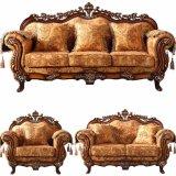 Sofá de tecido de madeira com sofás opcional Color e lugares (929)