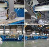 Laser Guide Serra de ponte automática para máquina de corte de pedras (XZQQ625A)