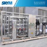 Planta industrial do sistema de osmose reversa RO para o tratamento da água