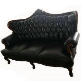 最もよい品質の工場卸売価格高貴な様式の本革のソファー(003#)