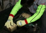 こんにちはすなわちHppeは極度の反切口の破損の抵抗力がある袖を編んだ