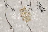 Ventas que tallan a la madre del mosaico del shell del material de construcción de Preal