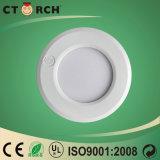 Ctorch 새로운 디자인 플라스틱 반지 금속 싼 가격을%s 가진 둥근 3W-18W 위원회 빛