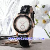 Förderung-Uhr-Leder-klassische Armbanduhren (WY-023A)