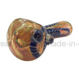 Switchbacks Grain Bowl Spoon Pipe with Spiral Colored (ES-HP-249)