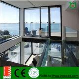 نوع سكنيّة ألومنيوم شباك باب مع يليّن زجاج