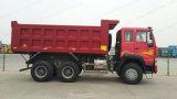 Príncipe dourado 6X4 dos caminhões de Tipper do caminhão de descarregador