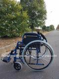 Desbloquear rápido, sillón de ruedas manual de acero