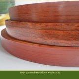 Nastro di PVC di legno del grano per gli accessori della mobilia