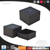 Imballaggio su ordinazione del contenitore di regalo della visualizzazione della vigilanza del cuoio di marchio di disegno di lusso (8841)
