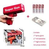 Supergeld-Spray-Spielzeug-Gewehr für Weihnachtshochzeits-Geburtstagsfeier-Vereine