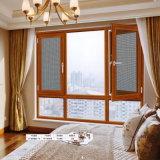 유럽식 목제 여닫이 창 문이 유리제 Windows, 향함 또는 외부 또는 수직은 열린 경첩을 달았다