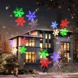 Het waterdichte LEIDENE Licht van de Tuin met de Projector van de Sneeuwvlok