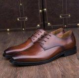 Классические мужские Lace Up платье обувь для свадьбы Дерби обувь