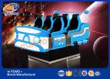 アーケード・ゲーム機械360程度のヘルメット6のシート9d Vrの映画館