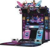 Der überraschende 55 Zoll-König simulator-Musik-Säulengang Viedo Tanzen-Spiel-Maschine des Tänzer-2 der Münzenin der Qualität bediente mit Münzen
