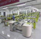 Koreaans Type 8 Kleur 30 Machine van de Druk van het Scherm van de Post de Automatische
