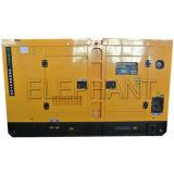 Tipo silenzioso a tre fasi diesel raffreddato ad acqua di CA del generatore da 180 KVA